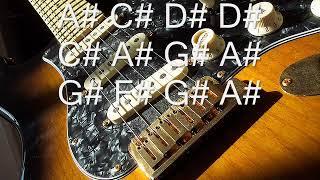 a# c# d# d# c# a# g# a#  g# f# g# a#
