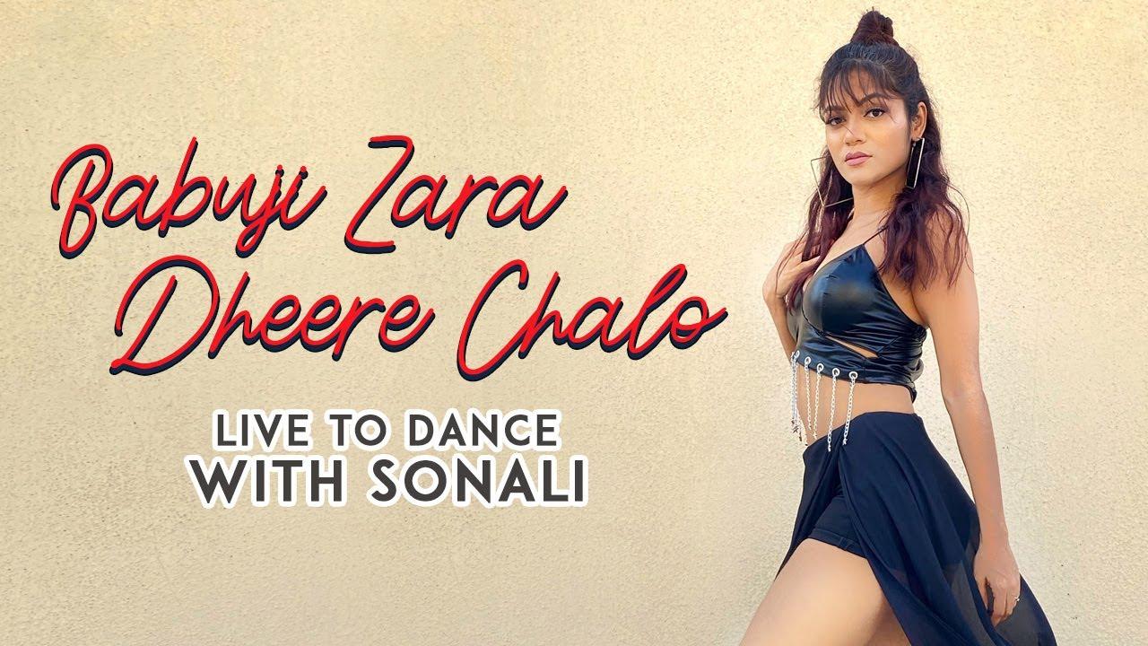 Babuji Zara Dheere Chalo | Dance Cover | LiveToDance with Sonali