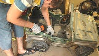 Детский электромобиль / Не работает после долгой стоянки