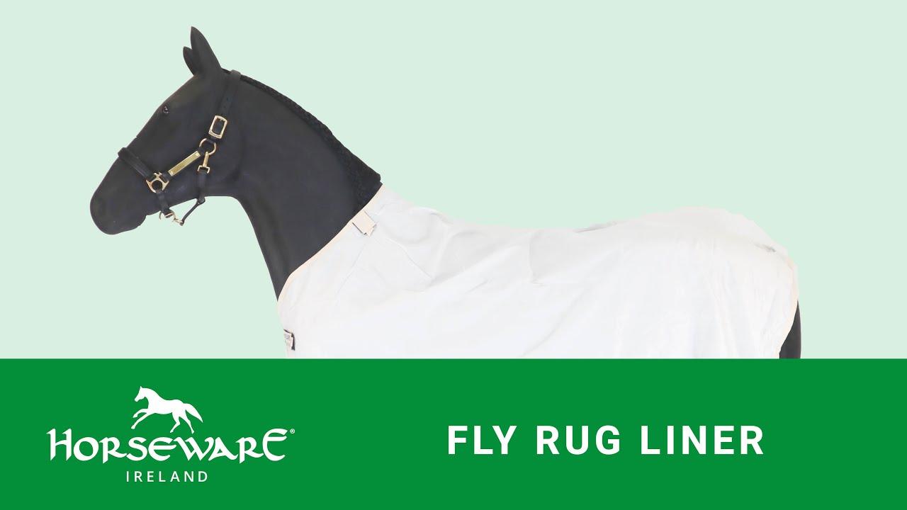 Horseware - Fly Rug Liner - YouTube