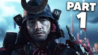 Ghost of Tsushima Gameplay Walkthrough Part 1 - LAST SAMURAI (PS4 Pro 4K)