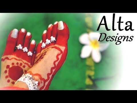 Alta Designs - Diwali | Navratri | Durga Puja | KarvaChauth | Indian Weddings