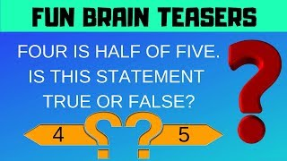 Fun Brain Teasers and the Answers