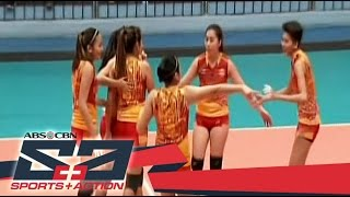 The Score: San Sebastian Lady Stags remain undefeated in the NCAA 92 Volleyball