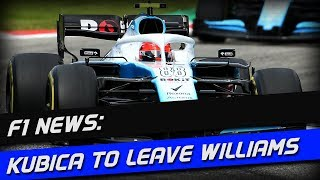 F1 News: Kubica To Leave Williams