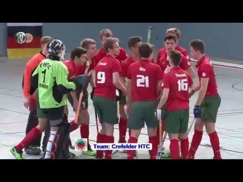 2. Spiel Gruppe A Deutsche Hallenhockey-Meisterschaft männliche Jugend A 2016 Hockeyvideos