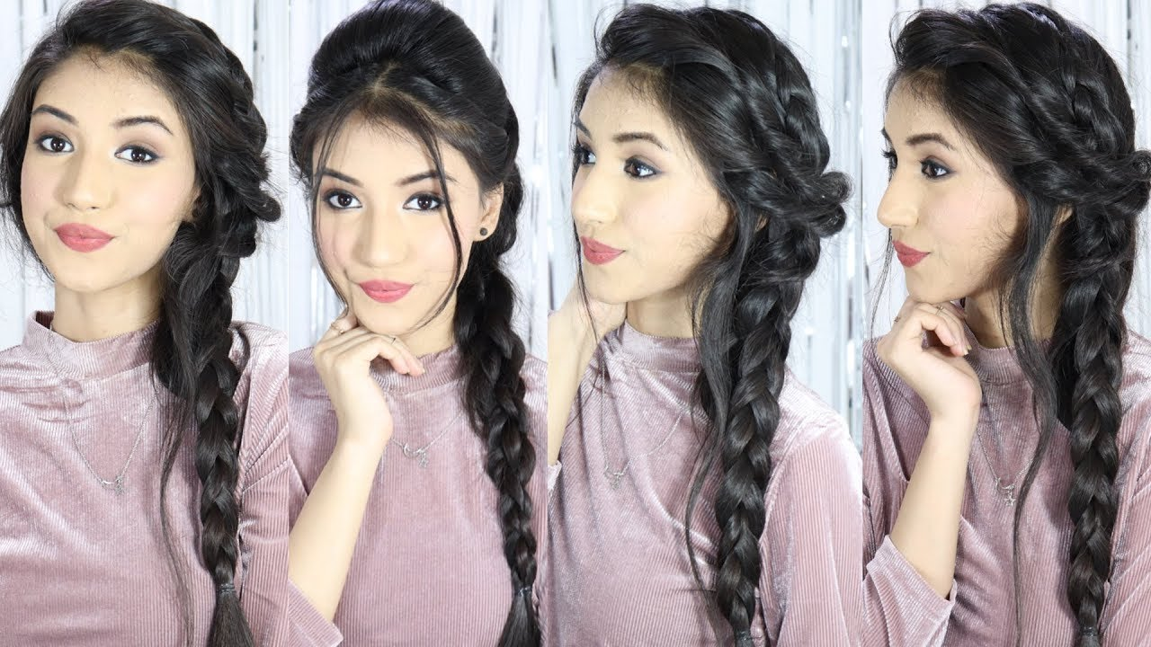 Unseen Braided Hairstyle 2019 For Girls Hair Style Girl Hairstyles Hairstyles For Long Hair Youtube