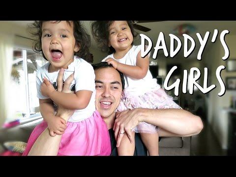 DADDY'S GIRLS! - November 06, 2016 - ItsJudysLife Vlogs