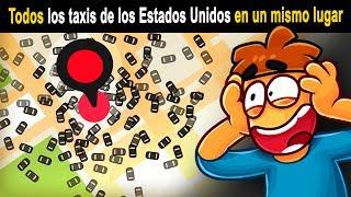 ¿Qué pasa si llamas a 100 000 Taxis a un Solo Lugar?