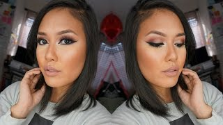 Romantic Rosy Eyes, Dramatic Liner ft. #JaclynHillFavorites Palette | naohms