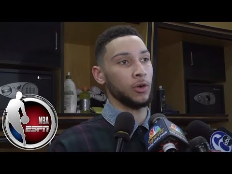[FULL] Ben Simmons on Game 2: 'I hate this feeling, but maybe it's a good reminder' | NBA on ESPN