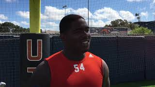UTSA Football Practice Report with DT Kevin Strong 9.19.18