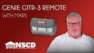 Tech Talks: Genie GITR-3 Garage Door Remote