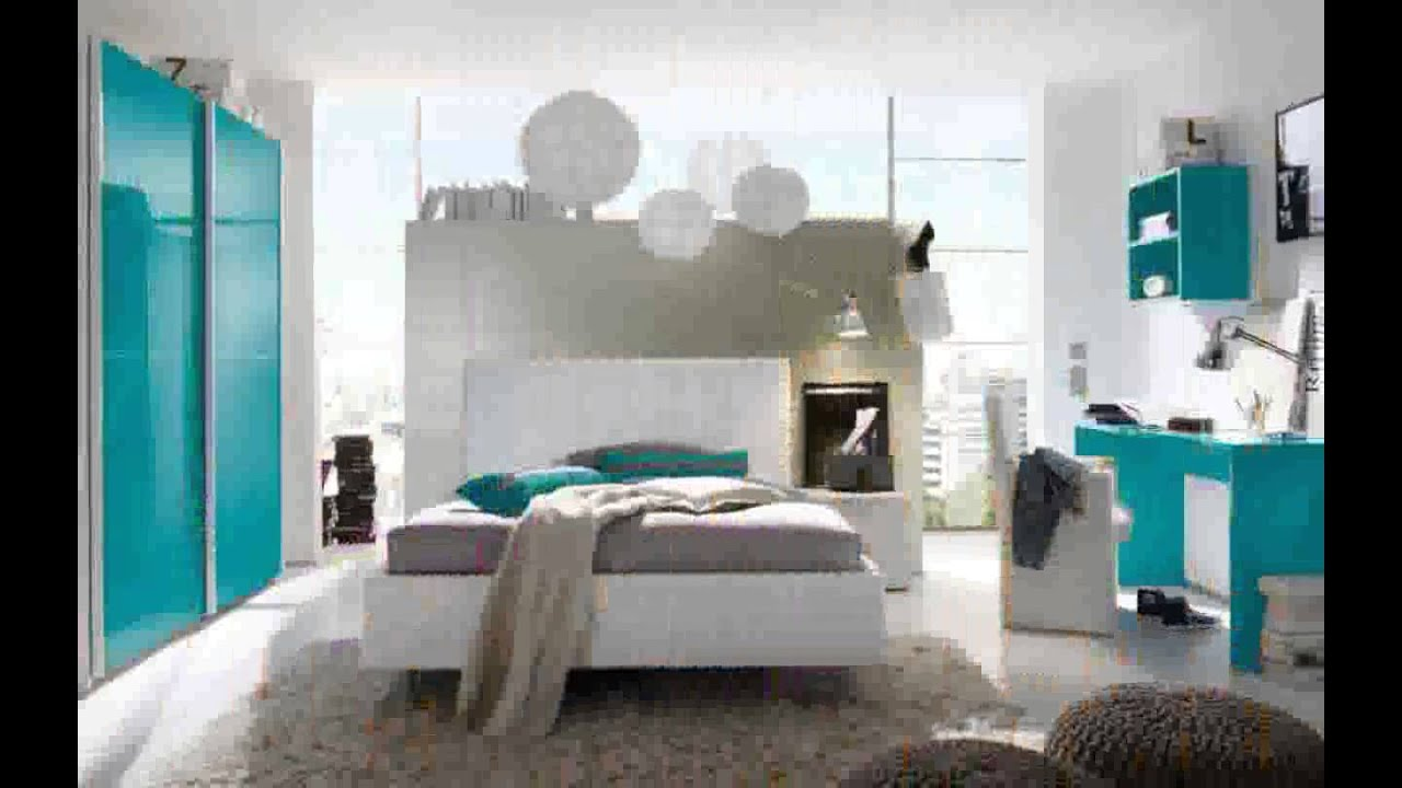 jugendzimmer m dchen modern t rkis. Black Bedroom Furniture Sets. Home Design Ideas