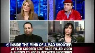 Dr. Alan J. Lipman with Lisa Bloom on Virginia Tech mass murder school shooting.mp4