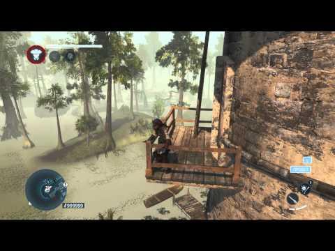 Прикольный баг в игре Assassins creed Liberation