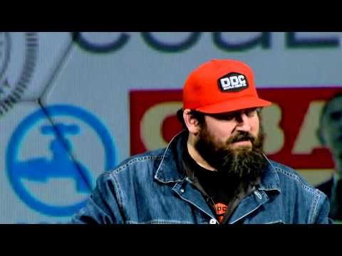 Making it in the little leagues: Aaron Draplin at TEDxPortland