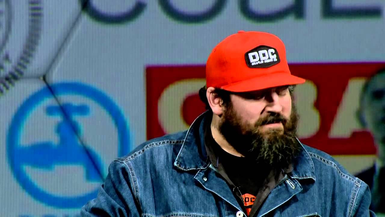 making it in the little leagues aaron draplin at tedxportland youtube. Black Bedroom Furniture Sets. Home Design Ideas
