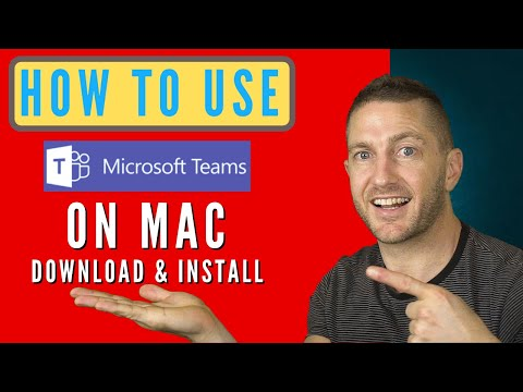 How to Use Microsoft Teams on a Mac | Download, Install & Join Meeting | 2020 | Tutorial