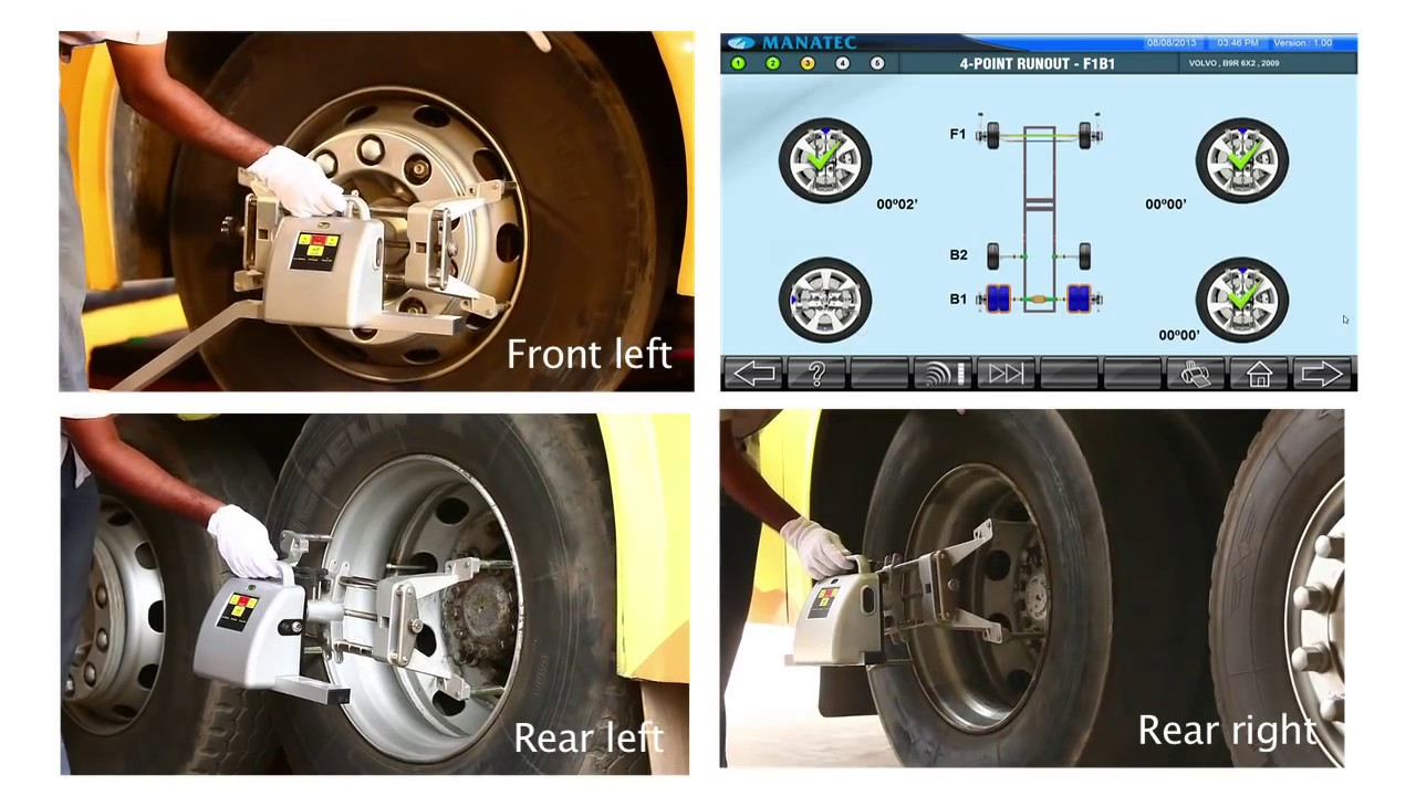 Manatec Truck And Bus Wheel Alignment Jumbo 9000 Youtube