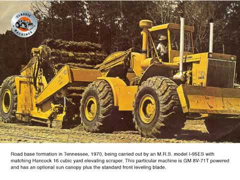 Classic earthmoving companies: Mississippi Road Supply Company