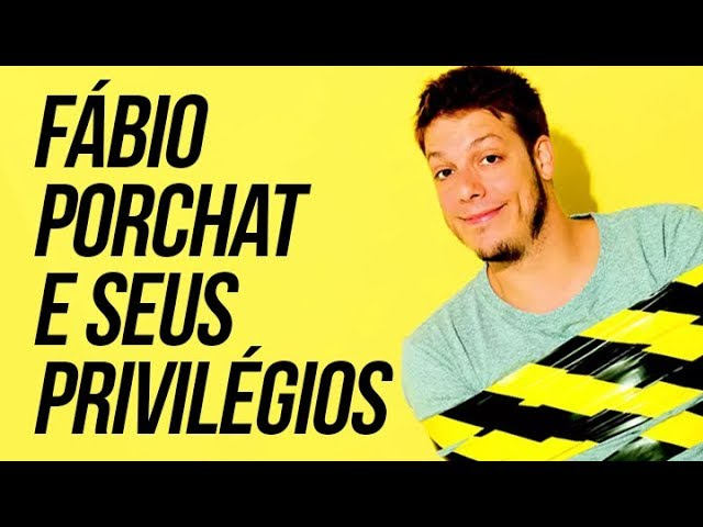 Fábio Porchat e seus privilégios | por Renan Santos