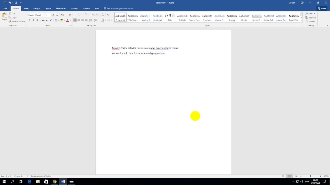 Ampare Windows Typewriter Keyboard Sound - Make your typing fun