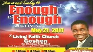 Sunday 1st Service: May 28, 2017