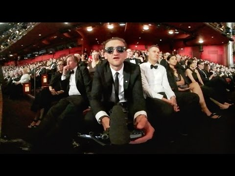Watching LEO WIN THE OSCAR in 360˚
