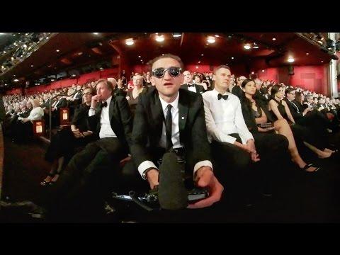 Watching LEO WIN THE OSCAR in 360˚