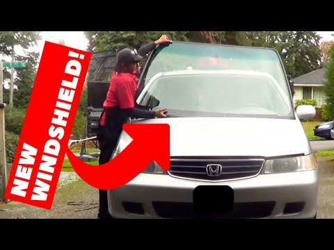 See A Windshield Replaced - Timelapse | Handy Hudsonite
