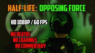 Half-life - Opposing Force (HD playthrough, no commentary)