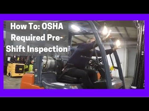 Daily OSHA Checklist