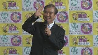上方落語協会会長の桂文枝さん(69)が10日、橋下徹大阪市長が地域...