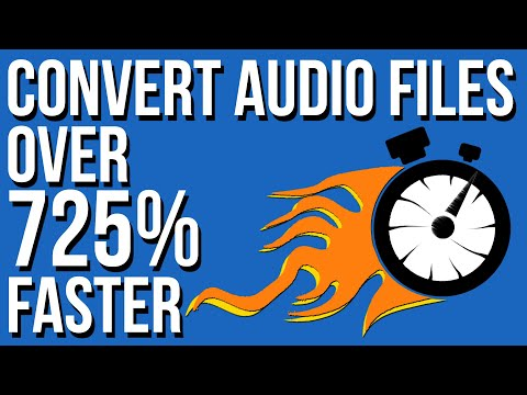 FFMPEG Python - Convert Audio Files To MP3 SUPER FAST ! 🔥