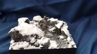 """The Mountain War 1915-1918"" diorama in 54mm scale"