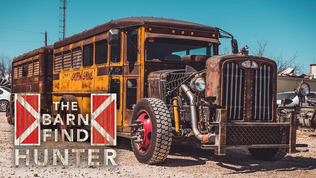 K-Code Mustang, a rat rod bus, and a whole lot more | Barn Find Hunter - Ep. 40