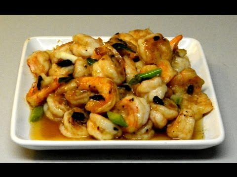 Stir Fry Shrimps In Salted Black Beans Sauce: Authentic Cantonese Cooking