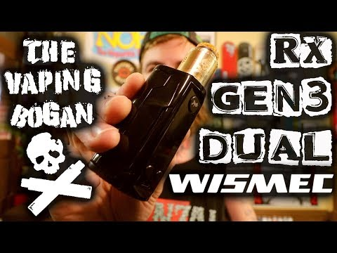 RX Gen 3 Dual | Wismec x Jaybo | The Vaping Bogan