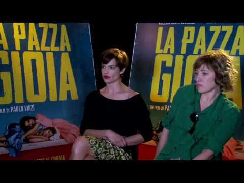La Pazza Gioia: Intervista a Micaela Ramazzotti & Valeria Bruni Tedeschi