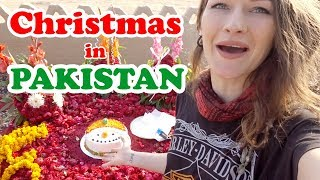 How a foreigner is treated in Pakistan on Christmas