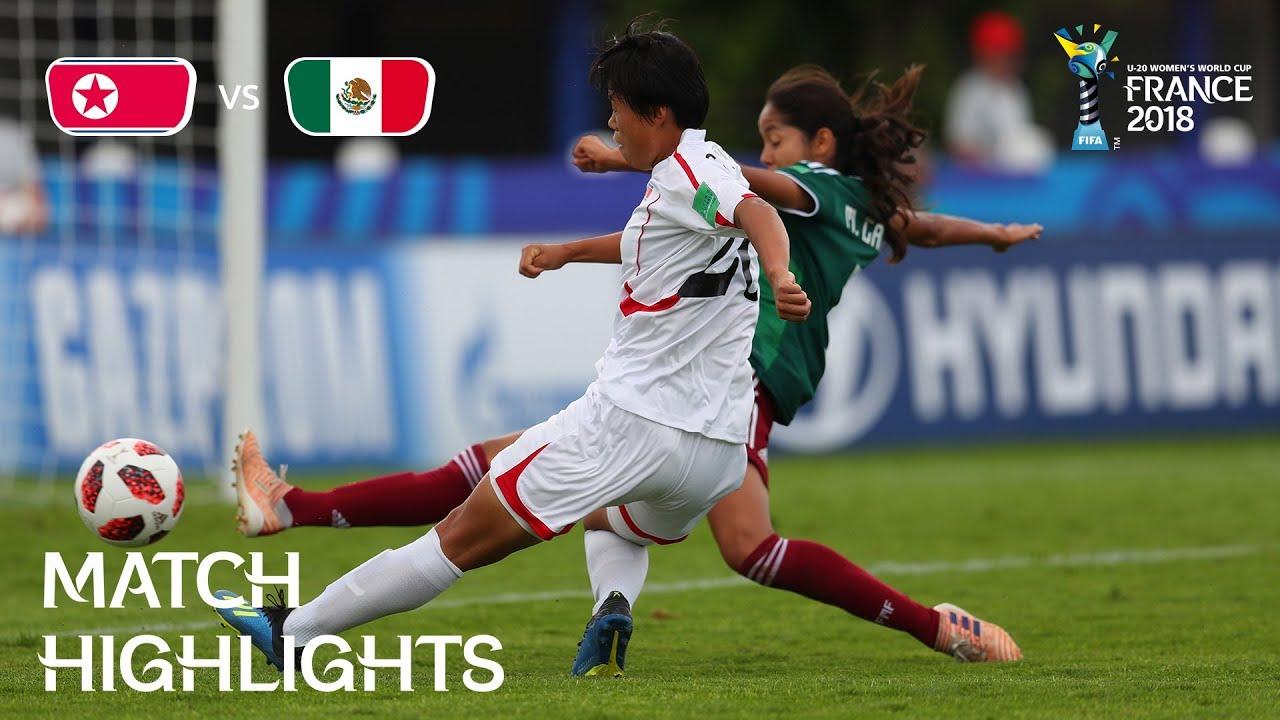 cf13d741beb Korea DPR v. Mexico - FIFA U-20 Women s World Cup France 2018 - Match 11