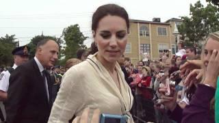 Meeting Prince William and Kate at Peake