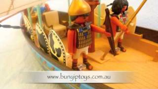 Playmobil Egyptian Ship 4241 from www.bunyiptoys.com.au Thumbnail