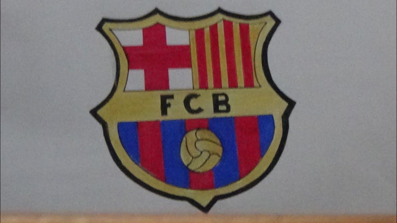 Draw Logo Fc Barcelona