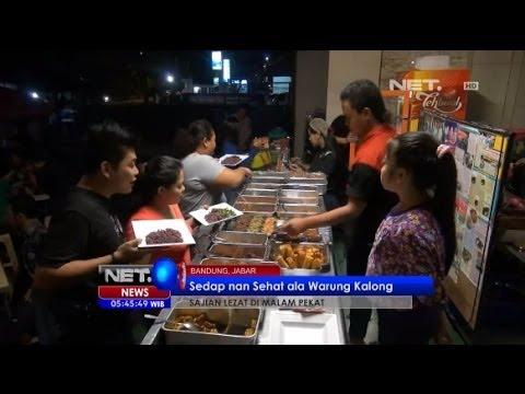 NET5 - Kuliner Malam Nasi Kalong Bandung