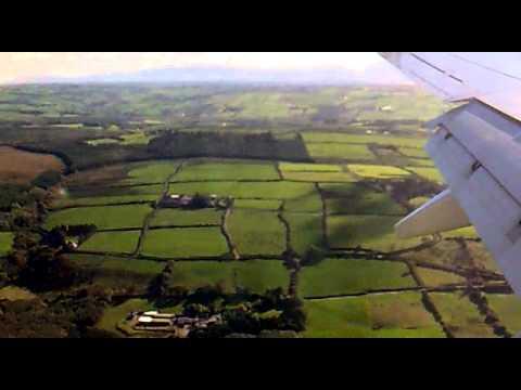 Rayanair hard landig  Ireland Kerry Airport