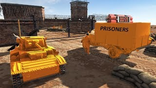 Prison Break ! Escape GONE WRONG ! Army Men Small OPS ? AMOW