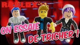 ON TRICHER TRYING ON THE COURSE OF THE MUERTE! - Roblox with Mary