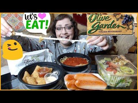Olive Garden | MUKBANG (Eating Show) #2
